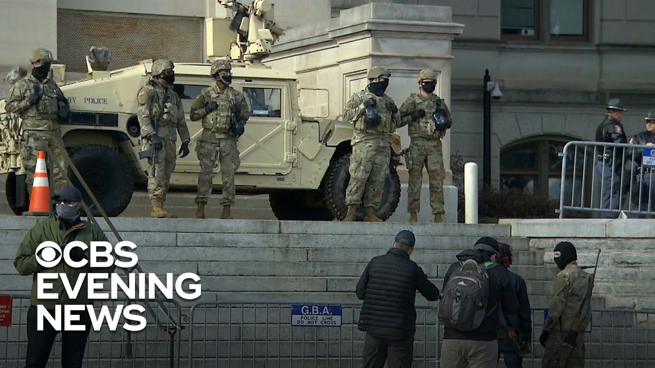 Police ramp up presence at state capitols amid extremist threats