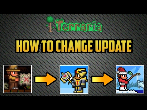 Terraria mobile 1.2.4 | How to Change Version in Terraria! Working 2017