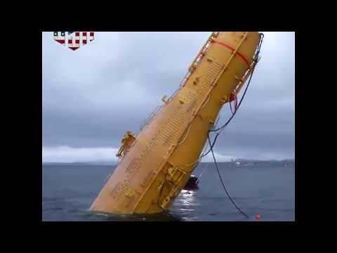 World's First Floating Wind Farm - Latest Technology - Wind Electricity