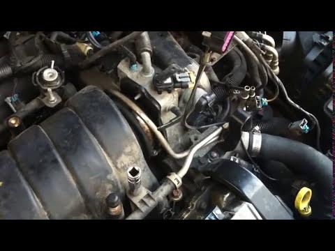 vacuum leak repair on cadillac northstar engine