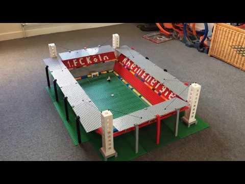 FC Koln Stadium built from Lego!!! (with Goat!)