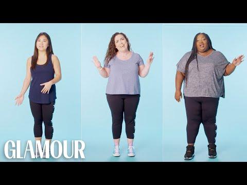Women Sizes 0 Through 28 Try on the Same Leggings | Glamour