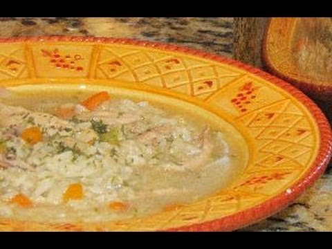 How to make Chicken & Rice Soup