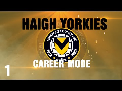 Fifa 14 Career Mode Newport County - Part 1 - A New Era Begins