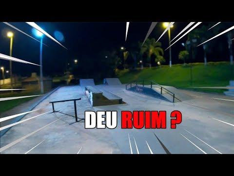 BMX | FUI NA PISTA DE MADRUGADA !