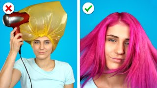 10  Smart Beauty Hacks! Cool and Simple Makeup and Girly Ideas
