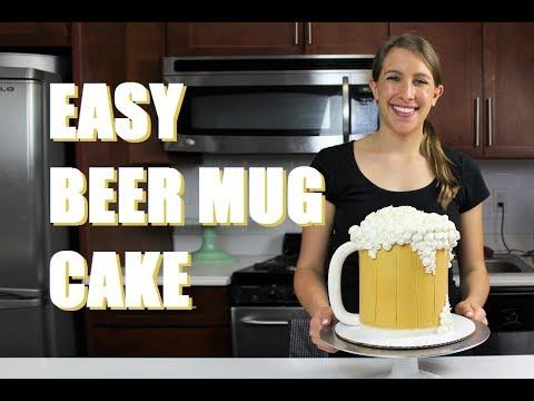 Beer Mug Cake | CHELSWEETS
