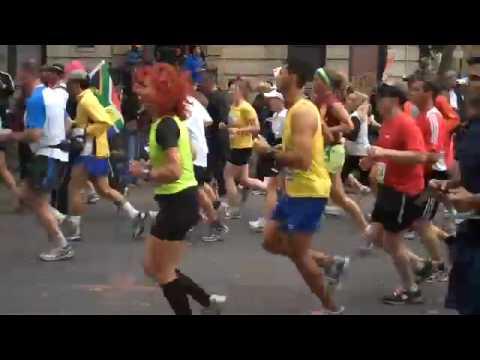 Eric in the NYC Marathon
