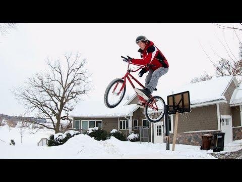 The BMX Snow Jump
