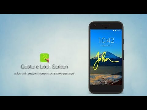 Android Signature And Drawing Screen Locker