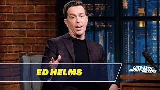 Ed Helms Shamed Kids for Peeing in the Pool