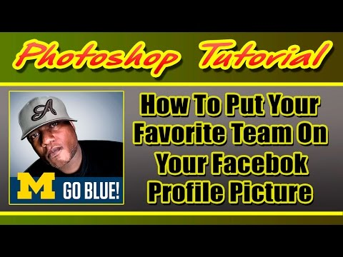 How To Put Your Favorite Team On Your Facebook Profile Picture | Digital Swagg