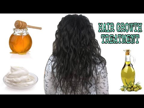 DIY Hair Growth Treatment with 3 ingredients from your kitchen
