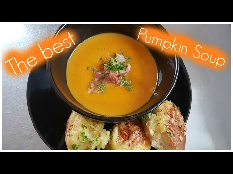How to make the best creamy pumpkin soup EVER