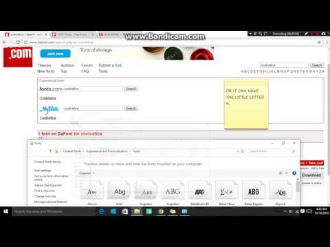 Where and How to Download Fonts (Wattpad Tutorial)