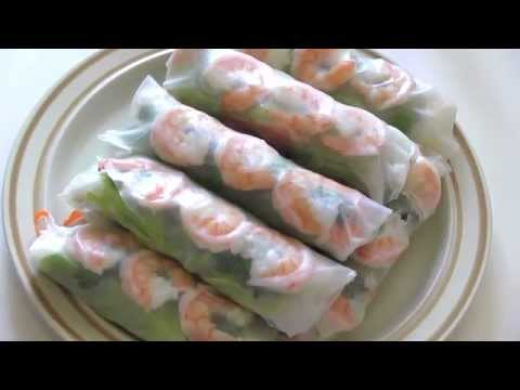 Pan Asian: Summer Rolls (Goi Cuon) -- Vietnam