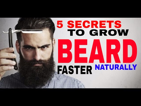 HOW TO GROW A BEARD FASTER NATURALLY | Grooming Tips( Hindi ) ✓
