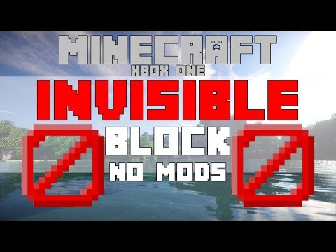 How To Get Invisible Blocks/ Barrier Blocks in Minecraft Xbox One Edition WORKING W/DOWNLOAD (TU54)