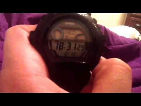 How to change the military/army time on the G-Shock