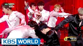 MONSTA X (몬스타엑스) - Ready Or Not / Beautiful (아름다워) [Music Bank COMEBACK / 2017.03.24]
