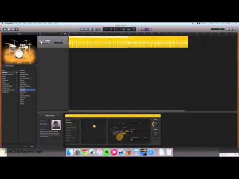 How To Add A New GarageBand Drum Track