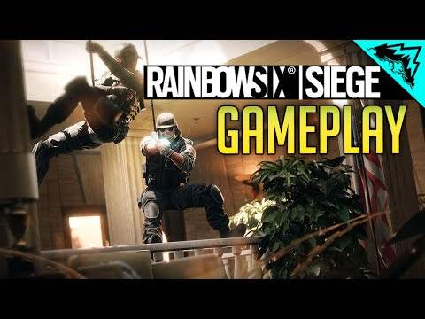 Rainbow 6 Siege Multiplayer Gameplay - Basics & Intro: Maps, Guns, Loadouts Retail Full Game