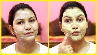 Get healthy glowing skin (winter special) /face pack for dry dull skin