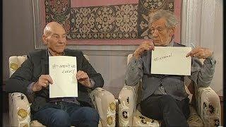 Download Patrick Stewart & Ian McKellen on their bromance | Channel 4 News Video