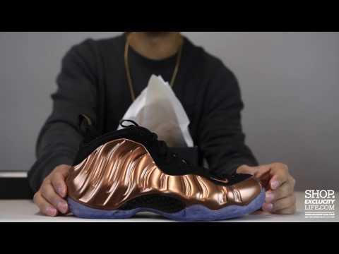 a34e6d32932d7 Nike Air Copper Foamposite imperfections fake  - Copper Foams Nike