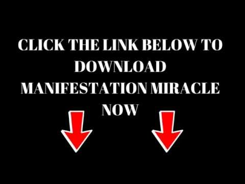 Manifestation Miracle Review - FREE Download + PDF Book
