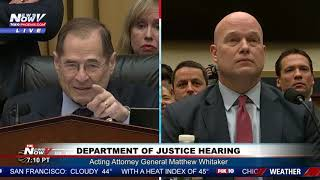 Download ″YOUR 5 MINUTES IS UP″ Matthew Whitaker Reminds Democratic Congressman Video