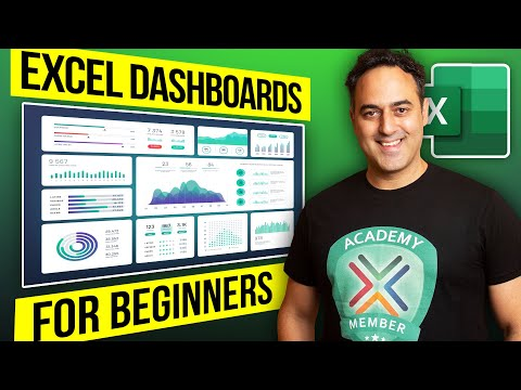 How to Create a Dashboard in Excel 2010, 2013 & 2016