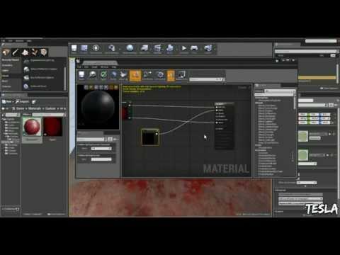 Unreal Engine 4 Tutorial - Decals (Free Blood Pack)