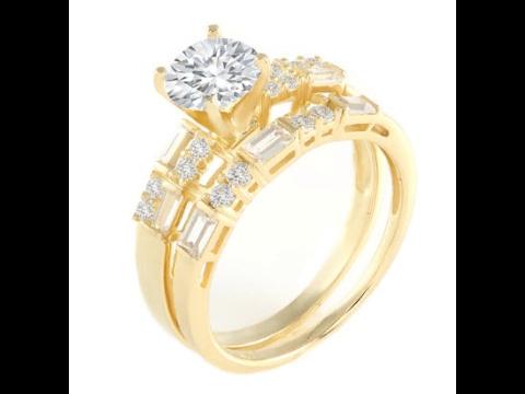 Yellow Gold Diamond Engagement Rings UK