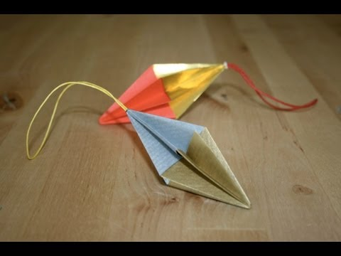 Christmas Origami - Simple ornament