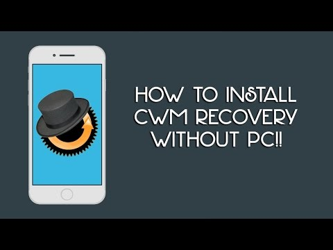 Install CWM/TWRP Custom Recovery Hindi |Without Pc|