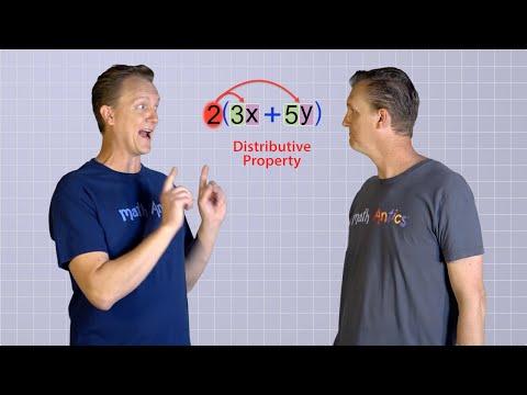 Algebra Basics: The Distributive Property - Math Antics