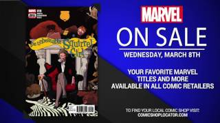 Marvel NOW! Titles for March 8th