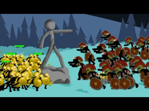 Full 50 Speartons SURVIVAL vs ZOMBIES   ENDLESS DEADS   Stick War Legacy