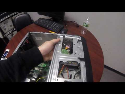 HOW TO REPLACE HARD DRIVE IN HP DESKTOP PC