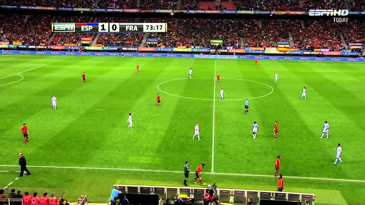 [2014世界杯外圍賽歐洲區]西班牙 對 法國 下半場