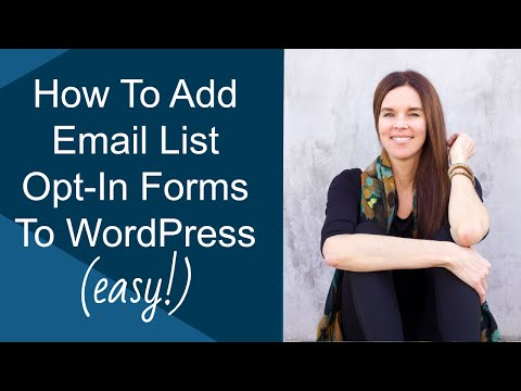 Add A Custom Email Opt In Form To Your Website Wordpress Magic Action