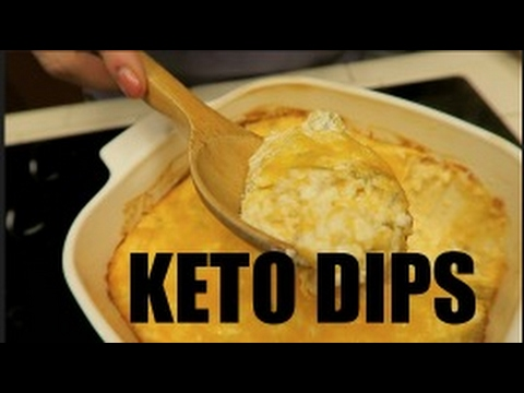 Keto Superbowl Snacks: Jalapeño Popper and Cheesy Shrimp Dip | My Favorite Keto Chip!