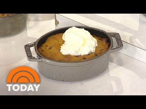 Nigella Lawson Cooks Up Chocolate Chip Cookie Dough Pots, Nutella Brownies | TODAY