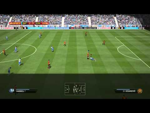 FIFA 14 PS4 SHAREPLAY VS. MY FRIEND!