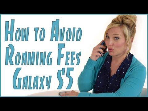 Avoid Data Roaming Fees - Samsung Edition
