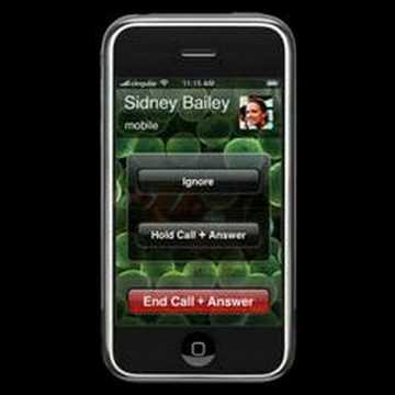 Phone call on iPhone