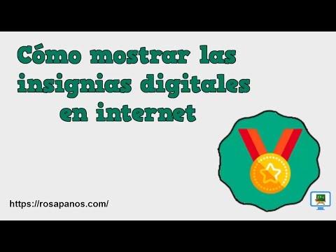 COMO MOSTRAR INSIGNIAS DIGITALES EN INTERNET  #InsigniasMooc (HD - subtitulos)