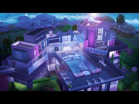 SIMS 4 MEGA PARTY MANSION | Speed Build