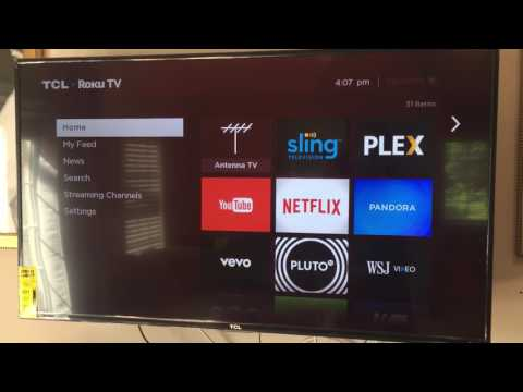 TCL Roku TV - Setting Up Live TV Record - TCL 55US57-W